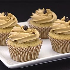 Vanilla Latte Cupcakes- the cupcake for coffee lovers.