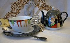 Natale e Porcellane: Pausa tè con le renne