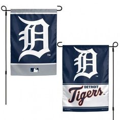 The premium two sided 12x18 flag is one ply and right reading on both sides. Sharp unique team graphics on both sides for two flags in ONE. It is soft to the touch & printed in the USA. Perfect outside in the garden or flower bed, while it works great inside to decorate your office cube or man cave.