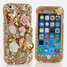 "(( Style # 787)) This Bling case can be made for all iPhone 6 PLUS(5.5"") models. Our professional designers can handcraft a case for you in as little as 2 weeks. Click image for direct link"
