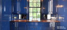Shaker Cabinets, Kitchen Cabinets, Fine Paints Of Europe, Navy Blue Decor, Furniture Restoration, Home Decor Bedroom, Painted Furniture, Paint Colors, Restoring Furniture