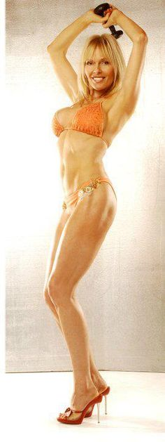 Lillian Müller, 60 years old, VEGAN athlete and Playmate