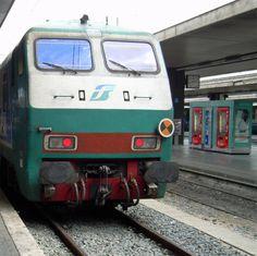 Tutte le strade portano a Roma. Ja junat myös ;-)