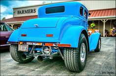 Street Rods | Blue Street Rod