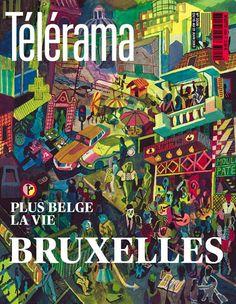 Brecht Evens - Télérama cover