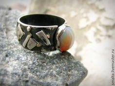 Купить Серебряное кольцо с опалом - серебряный, серебро, серебряное кольцо, серебряные украшения