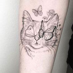 Cute Tattoos, Beautiful Tattoos, Body Art Tattoos, Small Tattoos, Tatoos, Wing Tattoos, Cat Tattoo Designs, Aesthetic Tattoo, Sister Tattoos