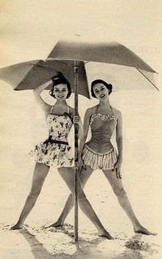 Cute vintage bathing suits
