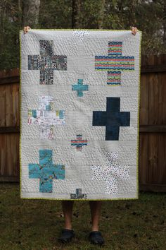 https://flic.kr/p/dXGMPa | VeloCity Baby Quilt - Front | Blogged sewkellysews.blogspot.com/2013/02/velocity-baby-quilt.html