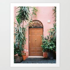 Front door of Rome Buy Front Door, Fine Art Prints, Canvas Prints, Rome Travel, Diy Frame, Home Decor Wall Art, High Quality Images, Cool Art, Travel Photography