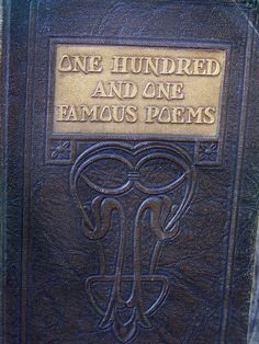 1929 One Hundred and One Famous Poems