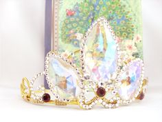 A Tangled Tiara - Rapunzel's Gold Crystal Crown