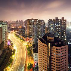 Shanghai cityscapes on Behance