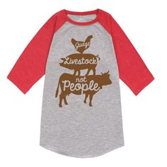 http://www.spendwithpennies.com/cowboy-caviar/Help your little one spread the positive vibes and celebrate that friendly country lifestyle with this cute and comfy raglan tee. With its super soft cotton material and fun farm animal graphic, this tee will have them looking just as good as they feel!