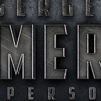 """Quick Tip: Create a Cinematic """"Sergeant America"""" Text Effect in Photoshop by Erasmo D'Onorio De Meo, In this quick tip tutorial we will demonstrate how to create a cinematic """"Sergeant America"""" Text Effect using the layer styles. Photoshop Fonts, Photoshop Text Effects, Photoshop Design, Photoshop Tutorial, Ps Tutorials, Web Design Tutorials, Graphic Design Tips, Layer Style, Vector Shapes"""