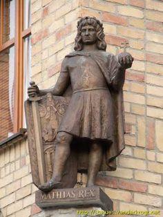 Komárom - Komárom / Kráľ Matej I. - I. Mátyás király Buddha