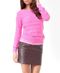 Essential Purl Knit Sweater $19.80 (Forever 21)