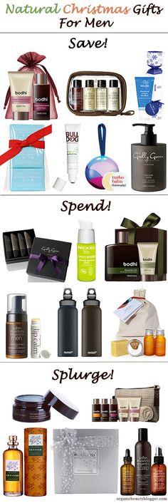 Organic Natural Christmas Gift Ideas For Men
