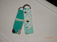 Sew Simple Designs: Cute Fabric Keychain .:. a tutorial