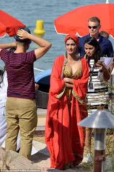 Picture perfect: Sonam Kapoor continued to showcase her incredible style as she was spotted soaking up the sun during her trip to Cannes during the renowned film festival on Monday Indian Actress Hot Pics, Bollywood Actress Hot Photos, Indian Bollywood Actress, Beautiful Bollywood Actress, Most Beautiful Indian Actress, Bollywood Fashion, Beautiful Actresses, Indian Celebrities, Bollywood Celebrities