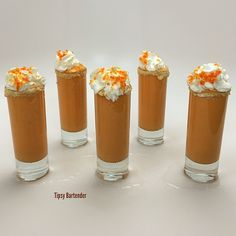 Check out the Pumpkin Pie Shooters! The perfect after Thanksgiving Dinner shot! For the recipe, visit us here: http://www.tipsybartender.com/blog/2014/11/30/g288njgufj2pz07uj9pto5p2c5fmtr