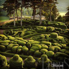 Les Jardins suspendus de Marqueyssac – Dordogne, Suroeste de #Francia | #Viajes