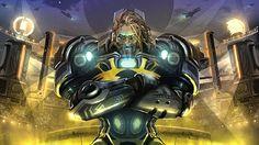 Games of Glory leva o jogador para um universo sci-fi com elementos de fantasia nórdica onde diversas facções lutam pelo poder.