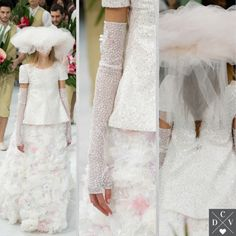 Chanel Couture Spring 2015 bride!