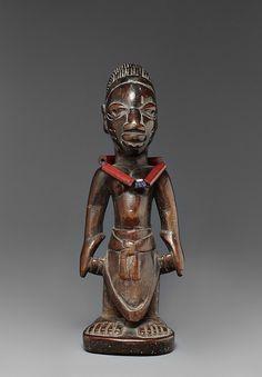 Yoruba Ere Ibeji (Twin Figure), Egbado - Ilaro, Nigeria