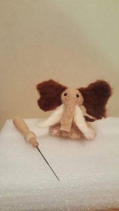 Customisable Needle Felt Whimsical Mammoth by TheWhimsicalMammoth on Etsy