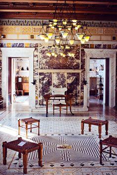 Villa Kerylos, Beaulieu sur Mer, France, Photo © Millie Brown
