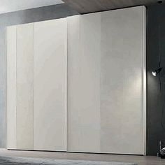 Amazing white 'Lester' Wardrobe by Orme