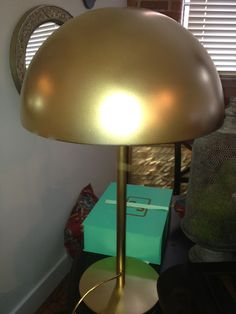 sadie + stella: Ikea Hack: The Dome Brasa Table Lamp