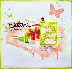 DT Spray & scrap Hello Spring par Shannon91