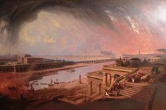 The Fall of Babylon (1819) - John Martin