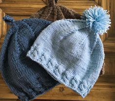 Two-needle baby hat rnrnSource by One Skein Crochet, Crochet Scarf Easy, Tunisian Crochet Stitches, Crochet Baby Beanie, Baby Cardigan Knitting Pattern, Crochet Beanie Pattern, Knitting For Kids, Baby Knitting, Tricot Baby