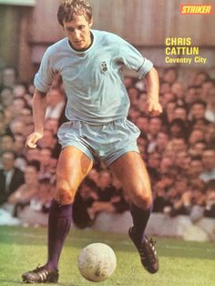 Chris Cattlin of Coventry City in 1970.
