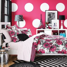 Teen Vogue Sketched Roses Cotton Comforter Set - Overstock™ Shopping - The Best Prices on Teen Vogue Teen Comforter Sets Teen Vogue Bedding, Teen Girl Bedding, Teen Girl Bedrooms, Girl Rooms, Teenager Rooms, Twin Comforter Sets, Bedding Sets, Rose Comforter, My New Room