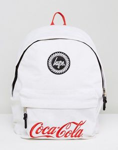 Hype x Coca Cola Backpack In White With Cooler Lining