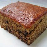 Banana Chocolate Chip Snack Cake Recipe to use to make Classic Bananas Foster with Mini Banana Cakes (next post) Coconut Desserts, Just Desserts, Delicious Desserts, Yummy Food, Raisin Sec, Cake Recipes, Sweet Treats, Favorite Recipes, Snacks