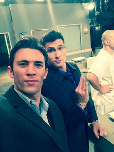 The new Chad....2014 and Ben. #DAYS