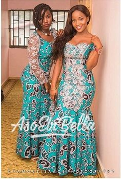 latest aso ebi styles check out 25 Latest Lace Aso Ebi Styles 2019 Catalogue For Ladies African Fashion Designers, African Fashion Ankara, Latest African Fashion Dresses, African Print Fashion, African Wedding Attire, African Attire, African Wear, African Women, Long African Dresses