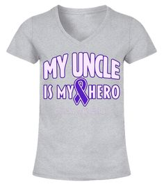 """# My Uncle is My Hero Pancreatic Cancer Awareness T-Shirt .  Special Offer, not available in shops      Comes in a variety of styles and colours      Buy yours now before it is too late!      Secured payment via Visa / Mastercard / Amex / PayPal      How to place an order            Choose the model from the drop-down menu      Click on """"Buy it now""""      Choose the size and the quantity      Add your delivery address and bank details      And that's it!      Tags: Show support for your uncle…"""