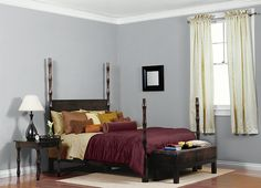 (bedroom) Behr Paint French Silver PPU18-5