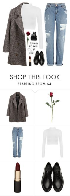 """i hope you find what you're looking for"" by silvanacavero ❤ liked on Polyvore featuring LE3NO, River Island, WearAll, Mimco and Dr. Martens"