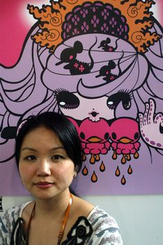 junko mizuno - my Illustration Art, Illustrations, Artsy Fartsy, The Creator, Japan, My Favorite Things, Portrait, Google Search, Artwork