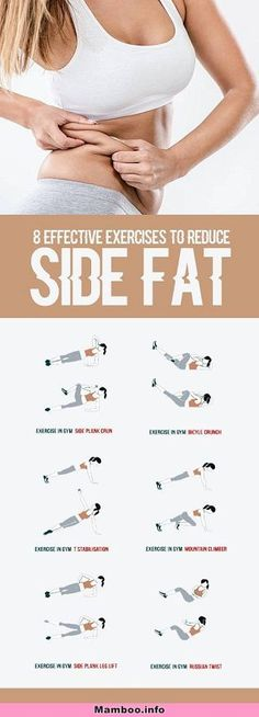 8 Effective Exercises To Reduce Side Fat of Waist - All Just You ., 8 Effective Exercises To Reduce Side Fat of Waist - Weltraum Just You . 8 Effective Exercises To Reduce Side Fat of Waist - Weltraum . Fitness Workouts, Yoga Fitness, At Home Workouts, Health Fitness, Ab Workouts, Workout Exercises, Key Health, Quick Workouts, Fitness Hacks