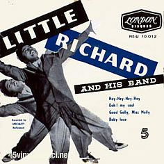 little richard - 45tours - discographie - French - vinyl