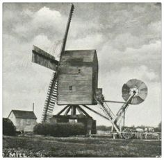 Post Mill, Orford, Suffolk c 1910.