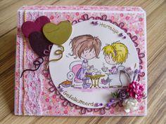 Handmade by Marleen: Daisy cadeau envelop